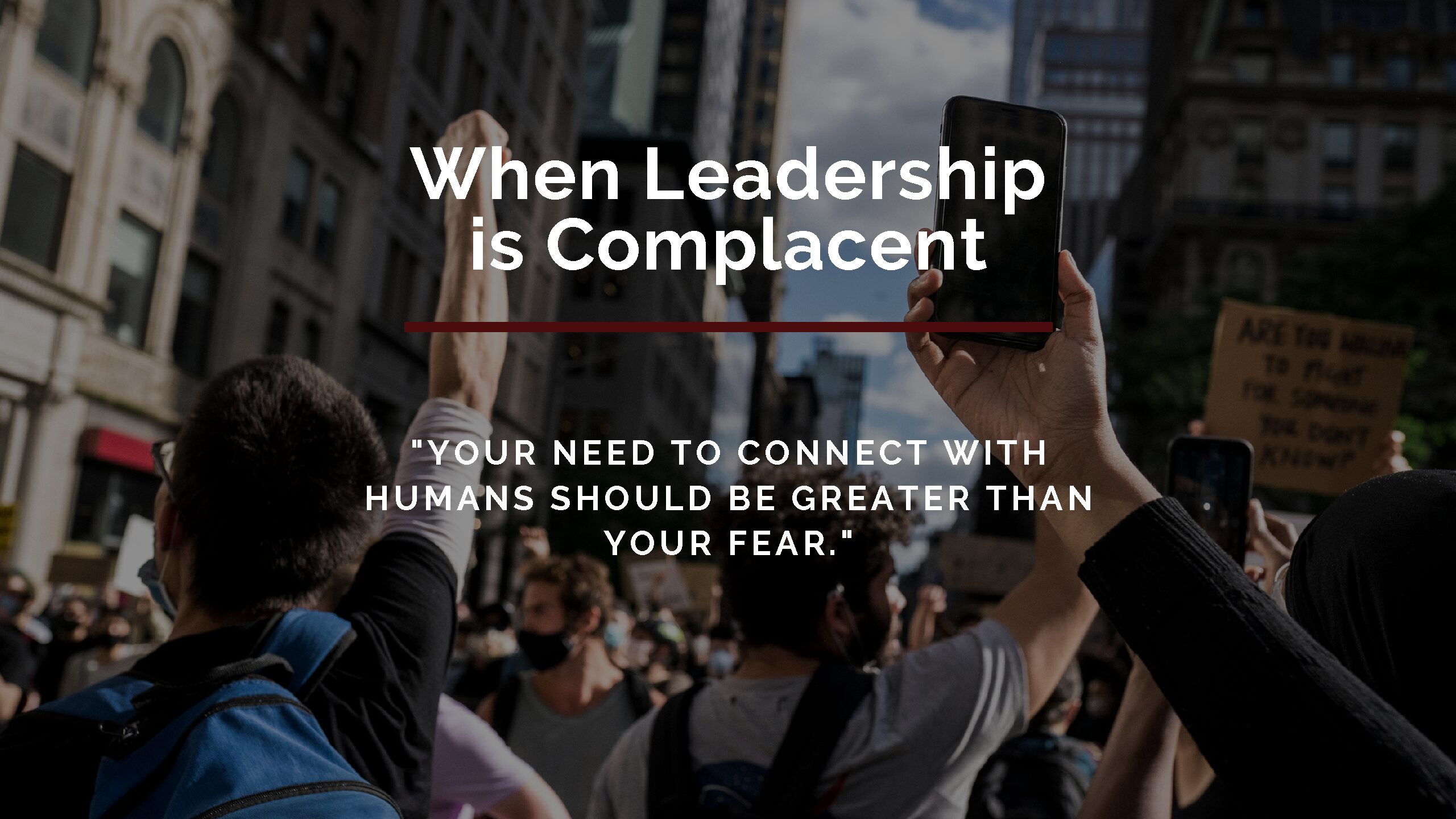 When Leadership is Complacent